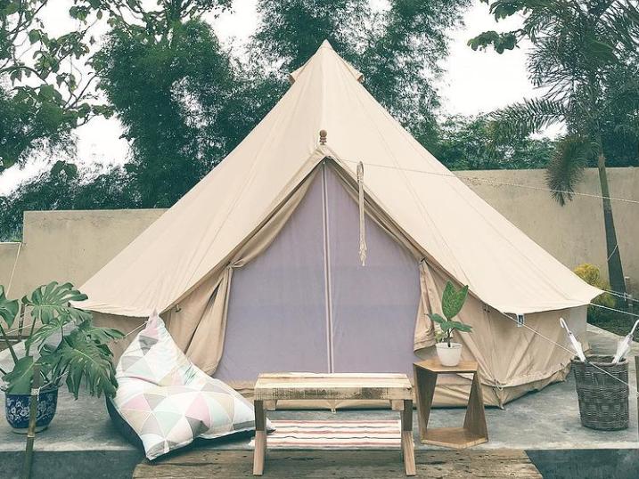 tempat camping di taneuh polaris