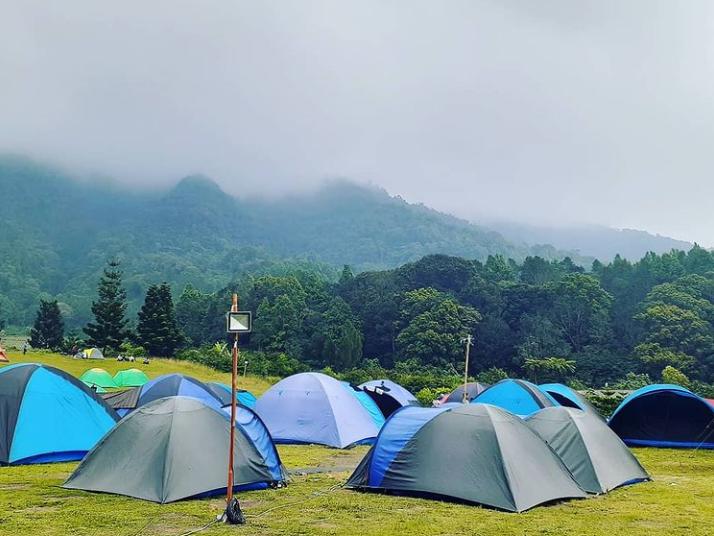 golf cibodas camping park