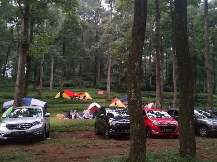 camping ground gunung salak