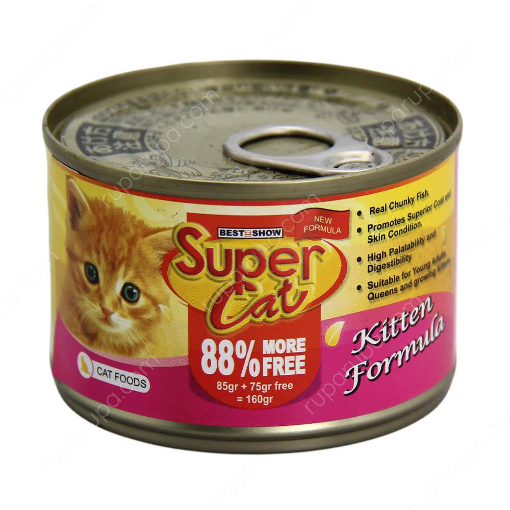 Makanan anak kucing