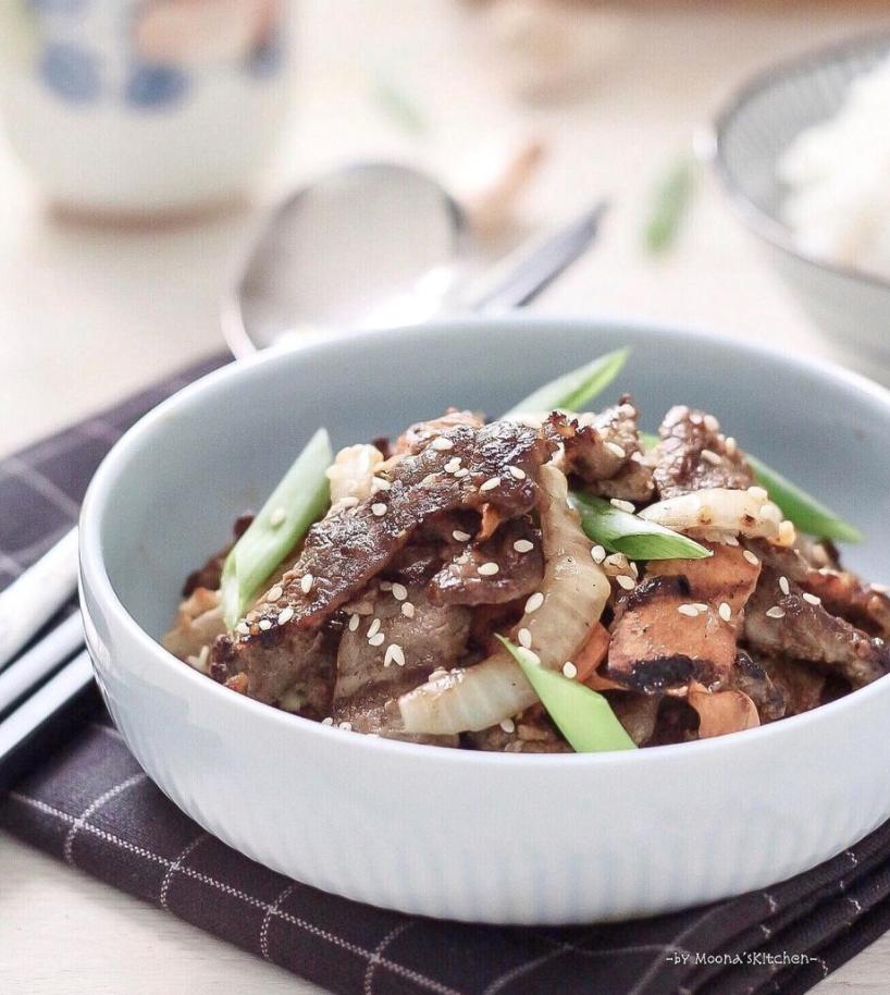 Resep bulgogi beef Korea
