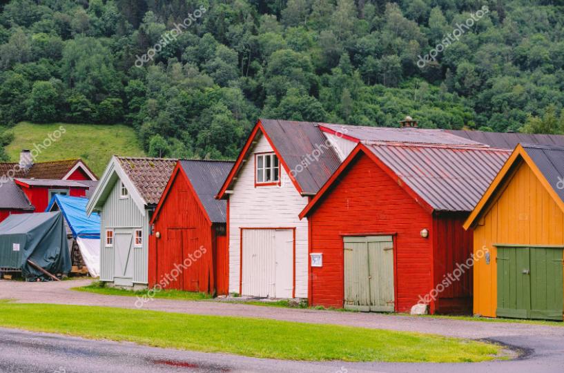 rumah scandinavian