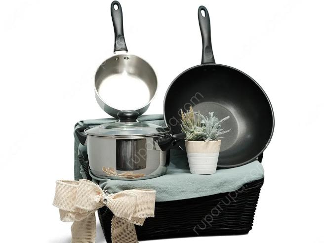 parcel peralatan masak