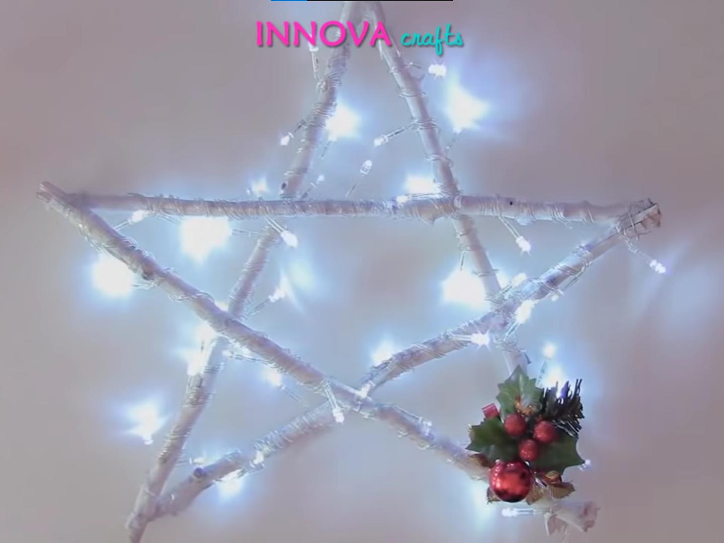 hiasan natal bintang