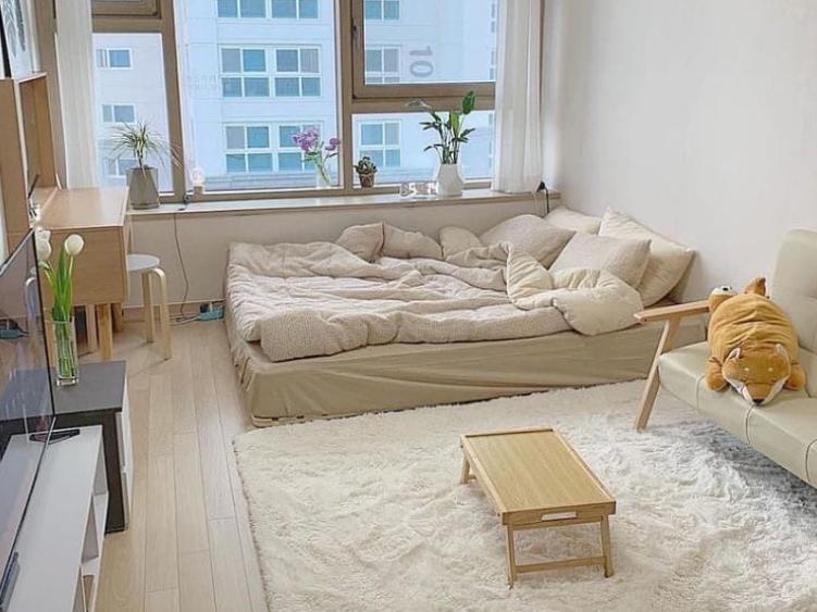 korean bedroom