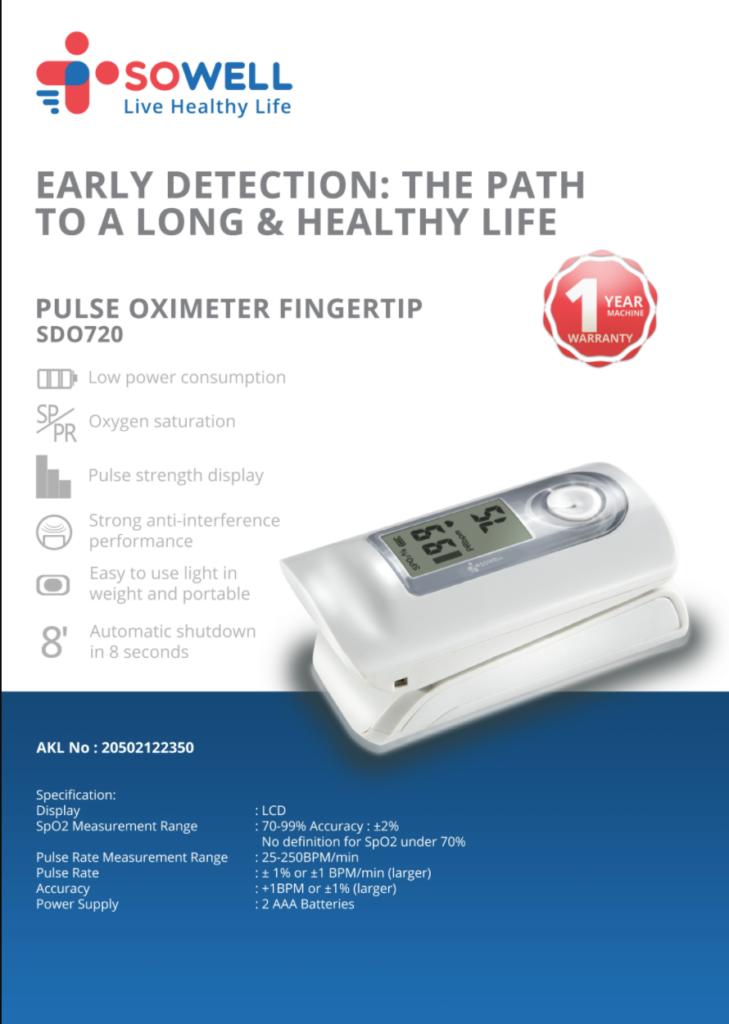 Rekomendasi oximeter terbaik