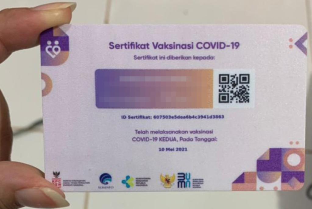 cek sertifikat vaksin