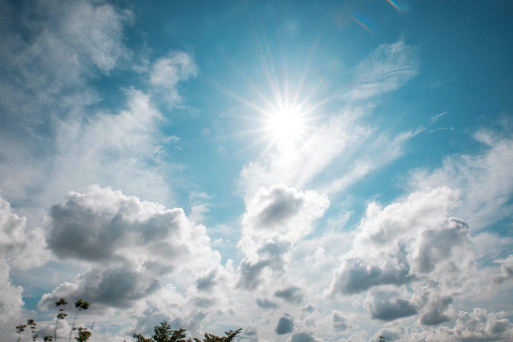 benefits of sunbathing