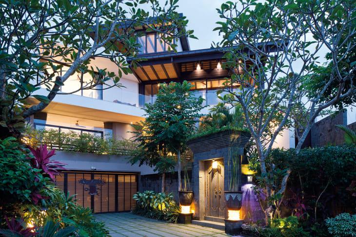 desain rumah minimalis resort