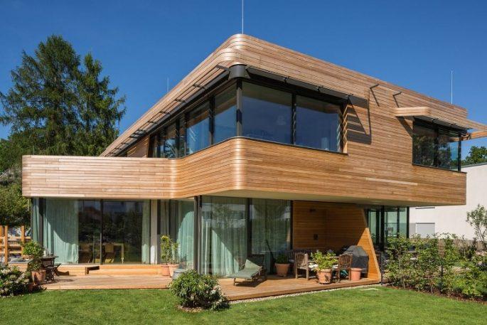 minimalist garden house