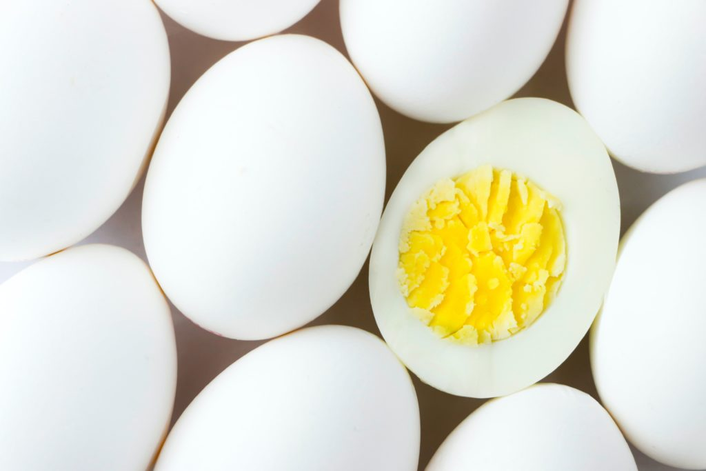 Egg yolks that have a number of benefits