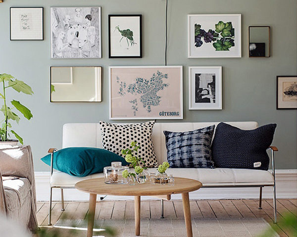 sage green room paint color