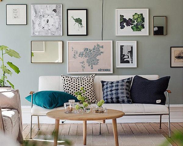 warna cat kamar sage green