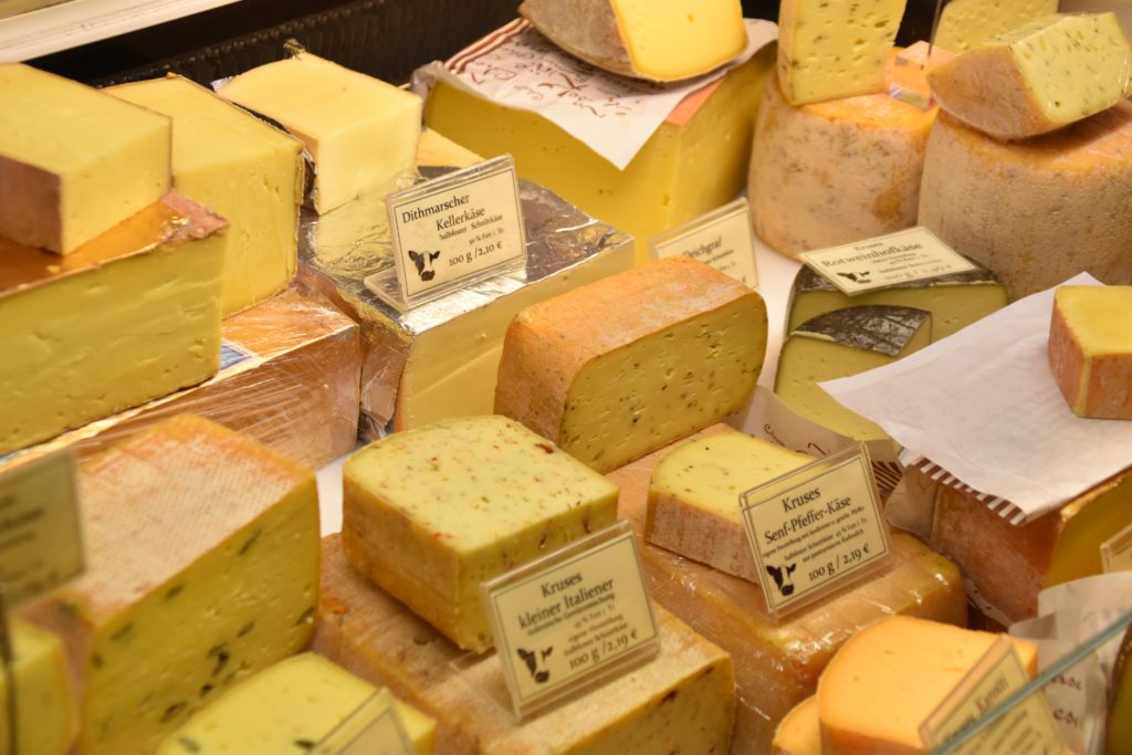 Cheese food source of vitamin D