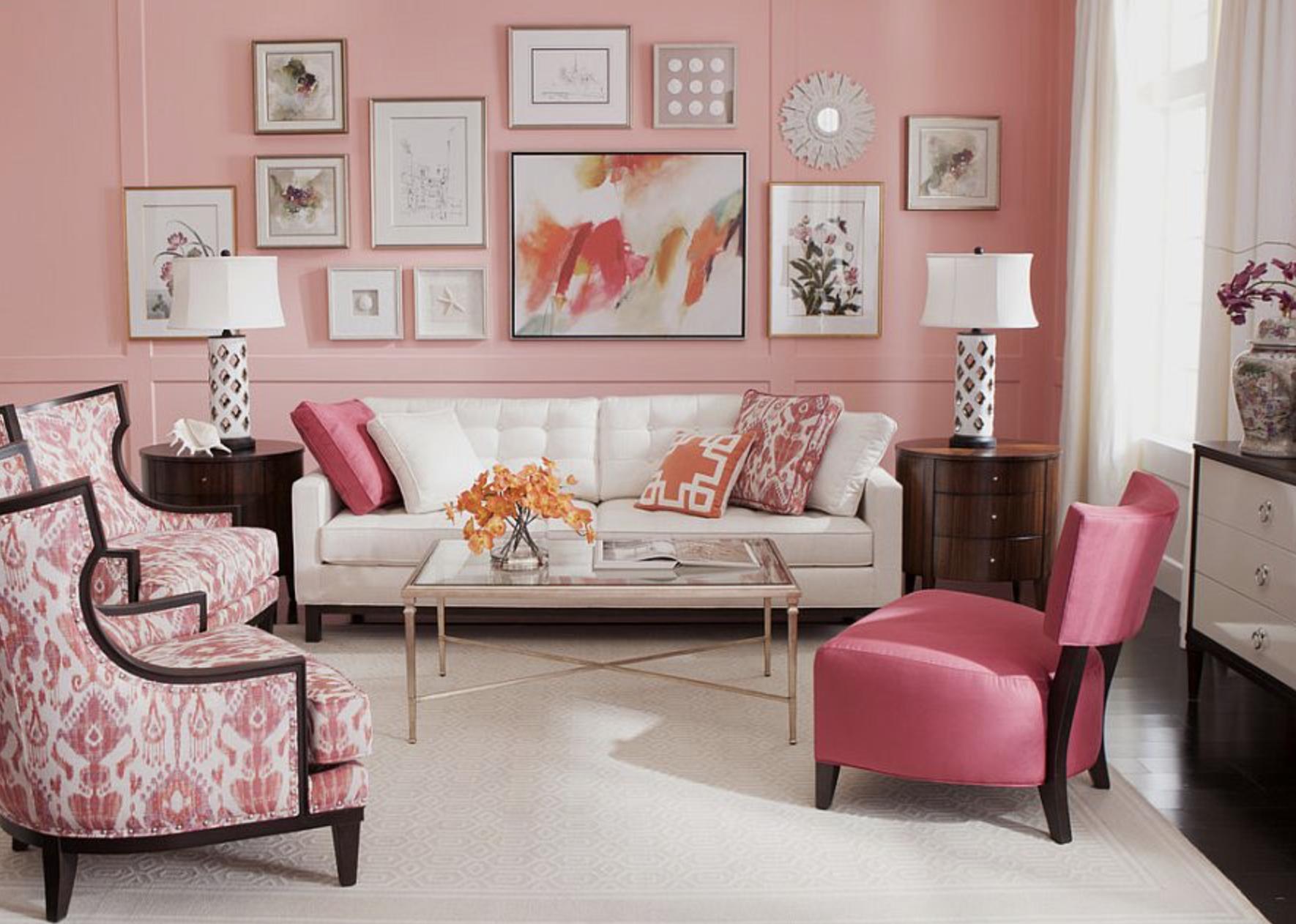 Ruang pink feminim