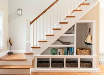 tangga kayu multifungsi