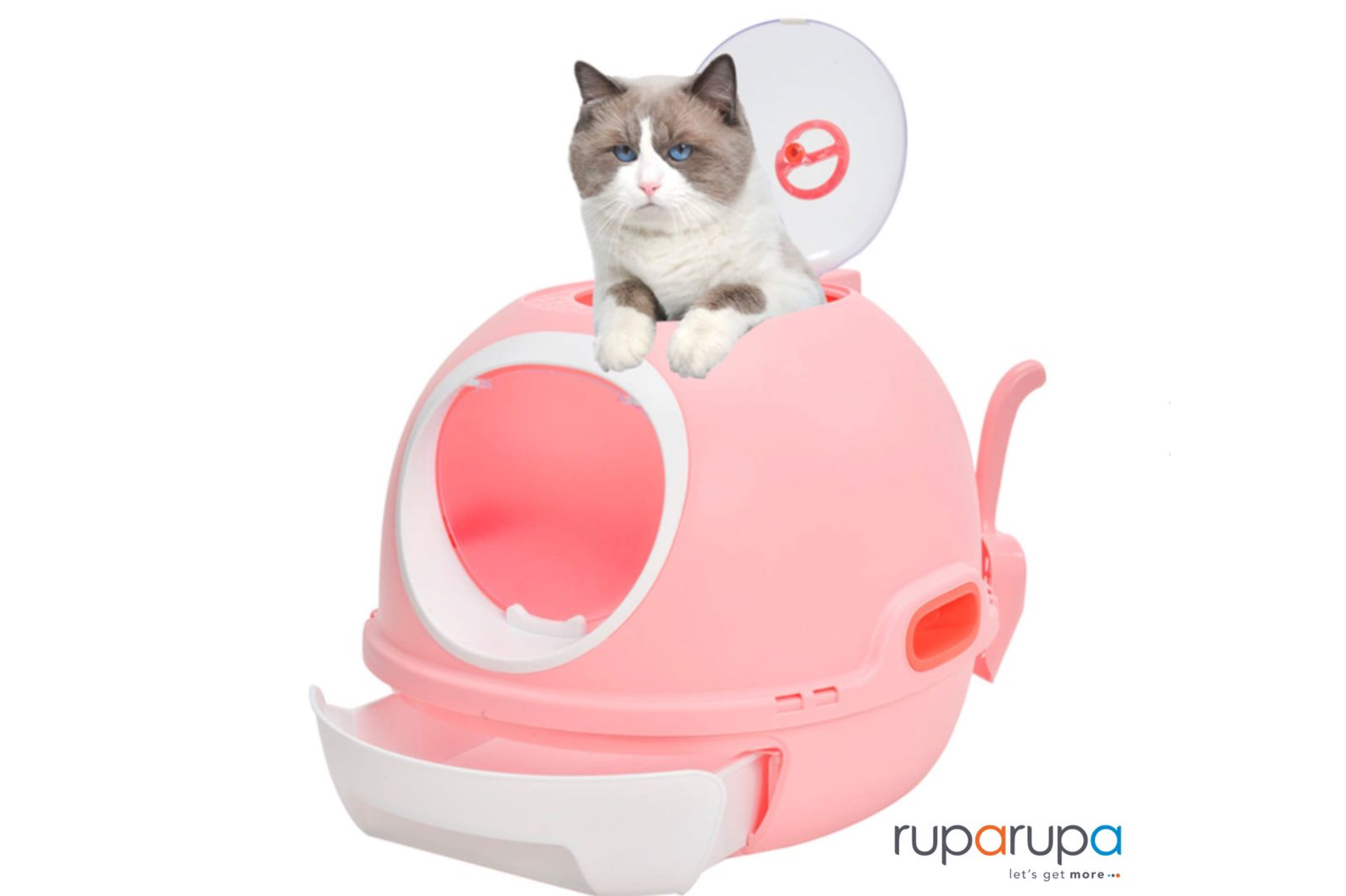 Skywindow 54x46x44 Cm Toilet Kucing