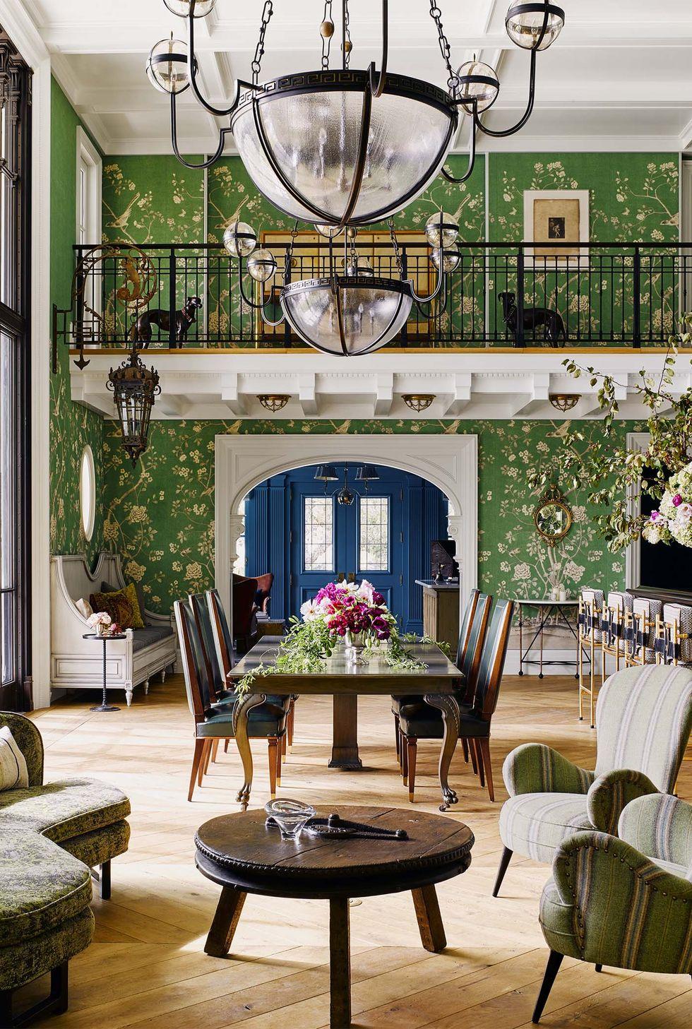 rumah wallpaper hijau