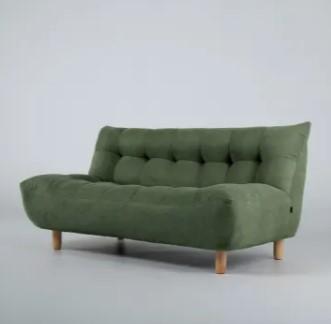sofa hijau