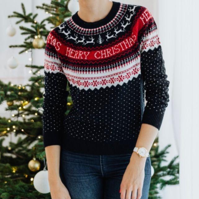sweater sebagai kado natal