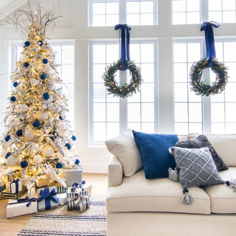Dekorasi natal yang simple dan berkelas