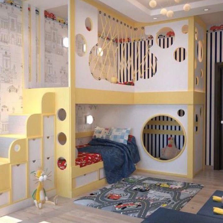 kamar anak ala perkotaan