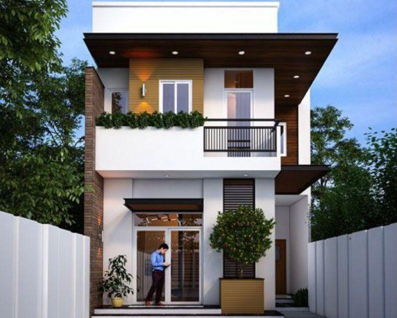 Desain Rumah tingkat minimalis modern