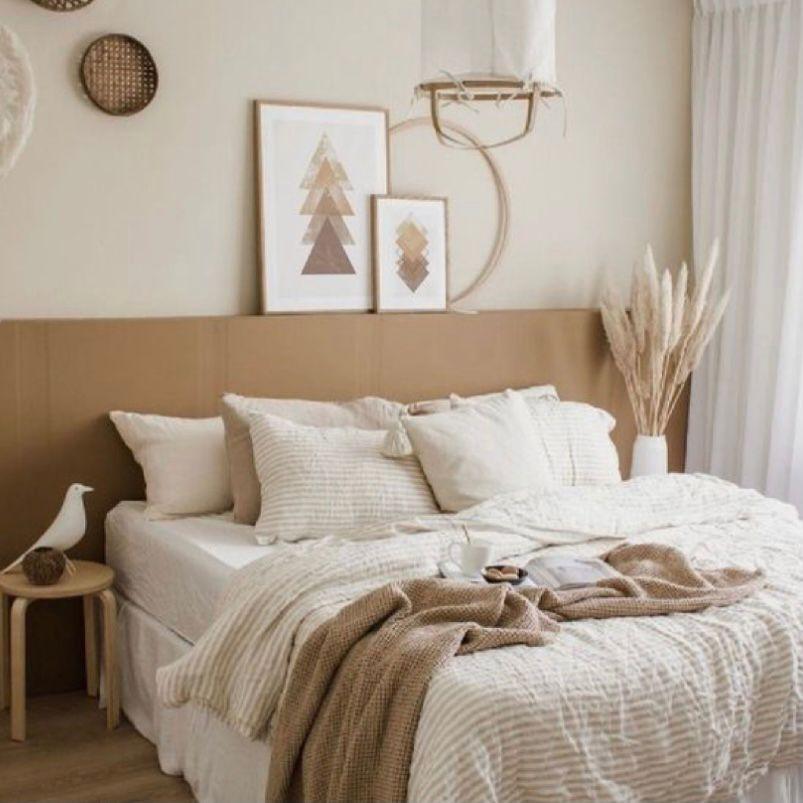 Desain kamar minimalis dengan bingkai