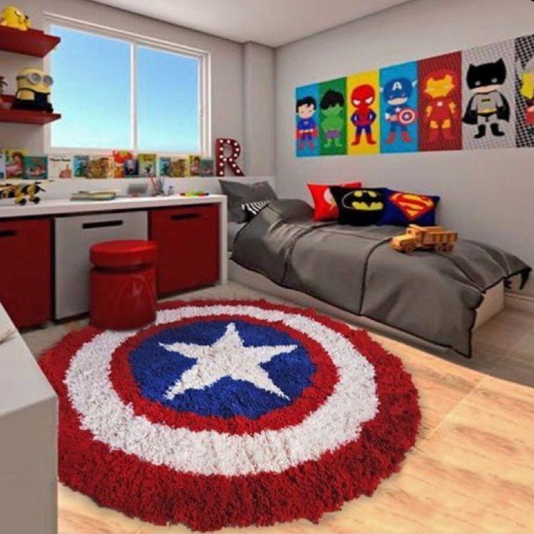 kamar anak tema superhero