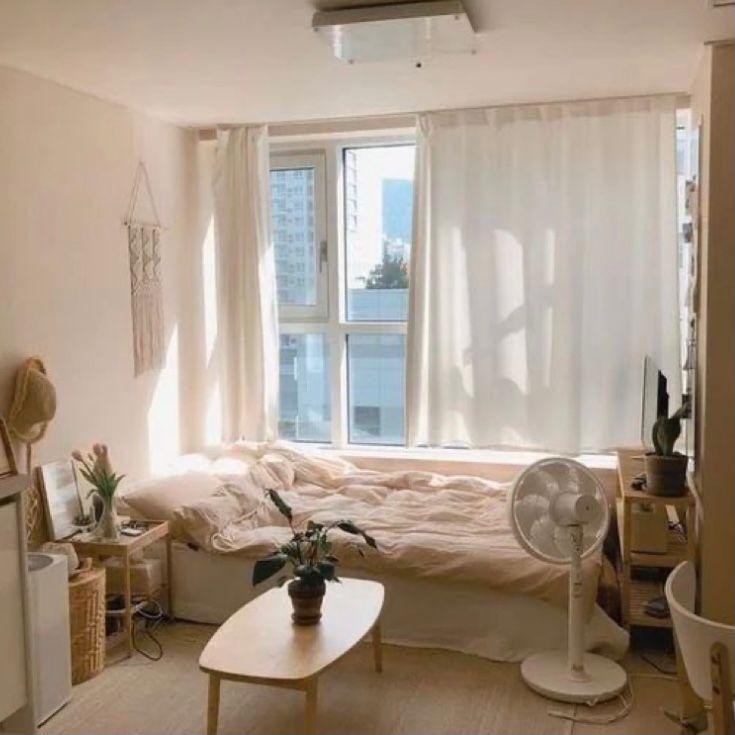 Kamar warna cream ala korea