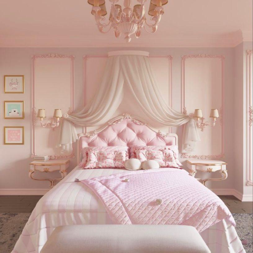 Desain ala kamar putri kerajaan