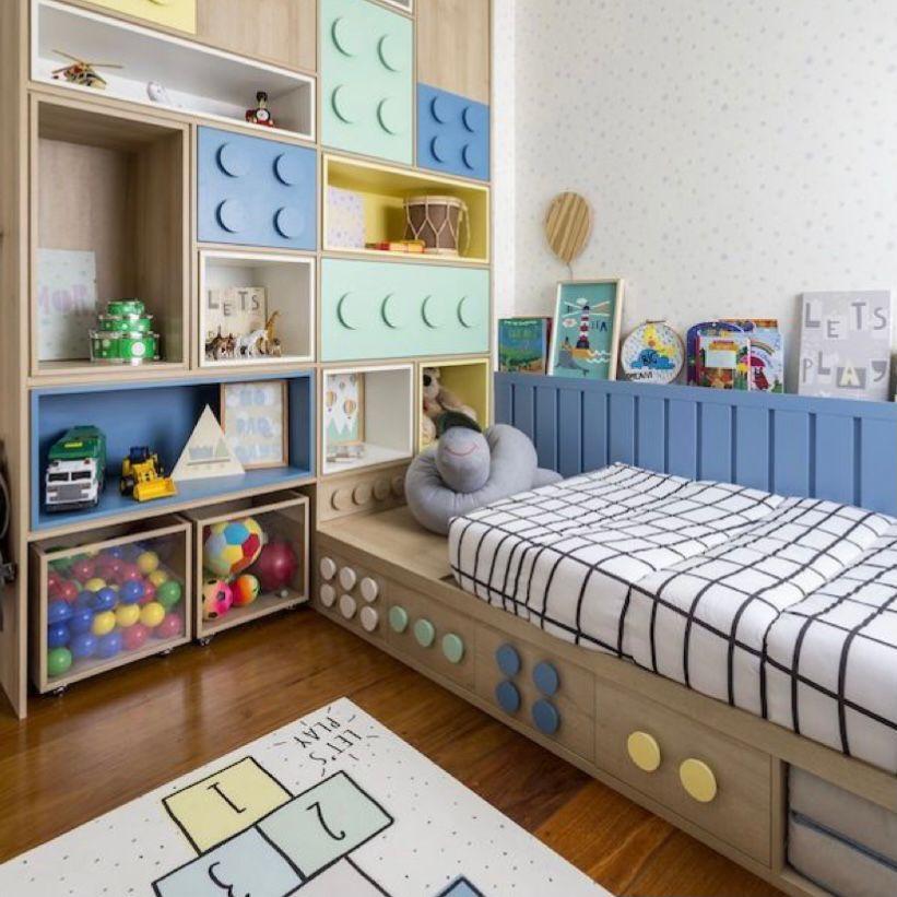 desain kamar anak laki-laki tema playground