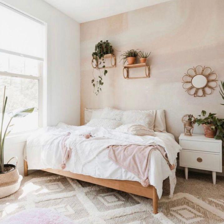 karpet bermotif pada kamar