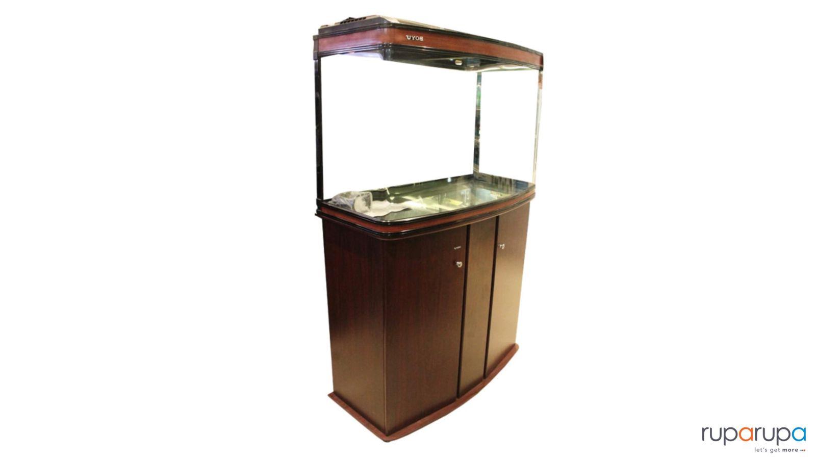 Boyu Set Aquarium Dan Kabinet 100 Cm