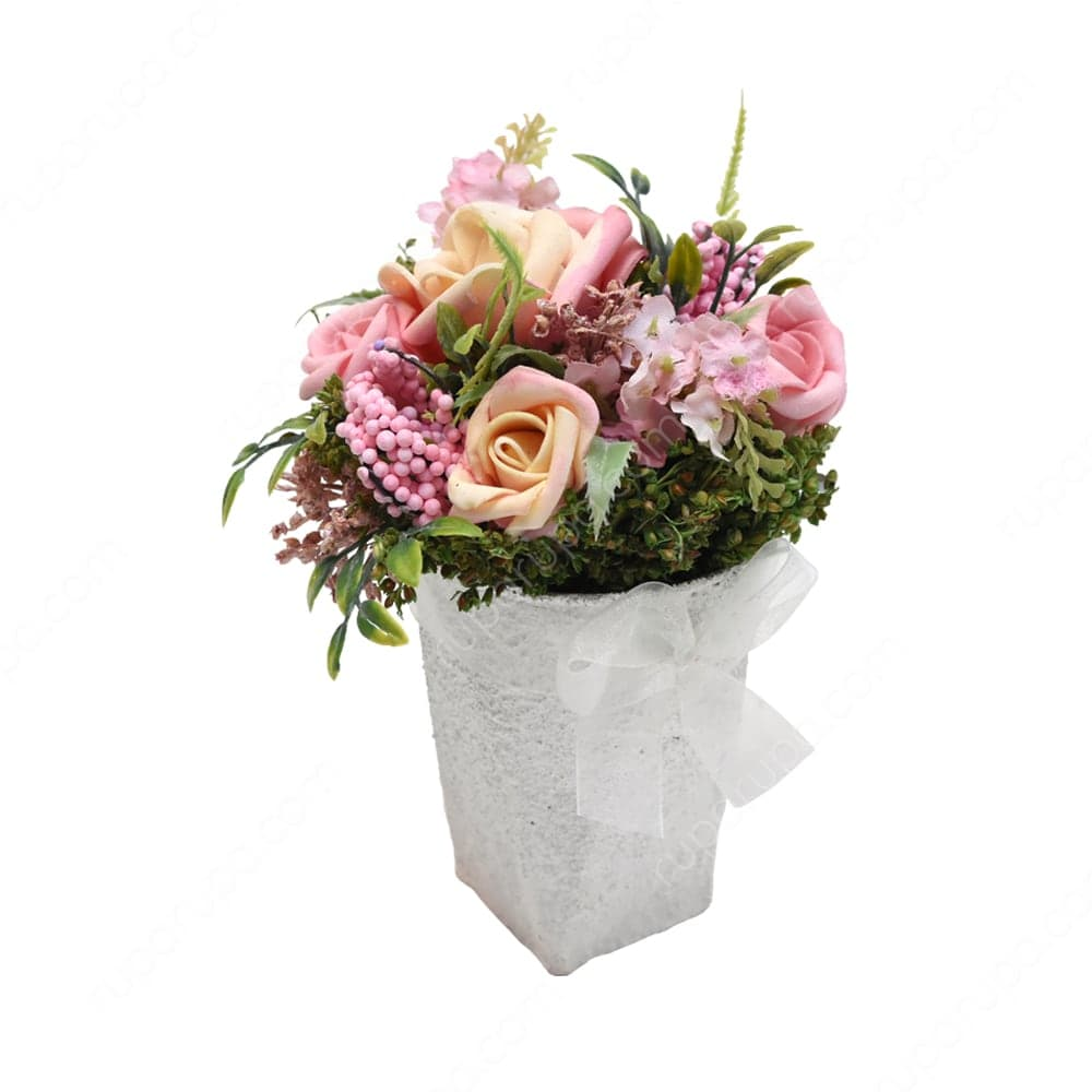 Hiasan bunga kering untuk ruang tamu