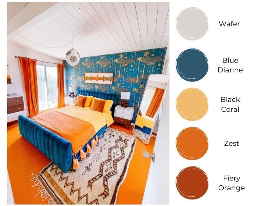 Kamar multicolor ala Timur Tengah
