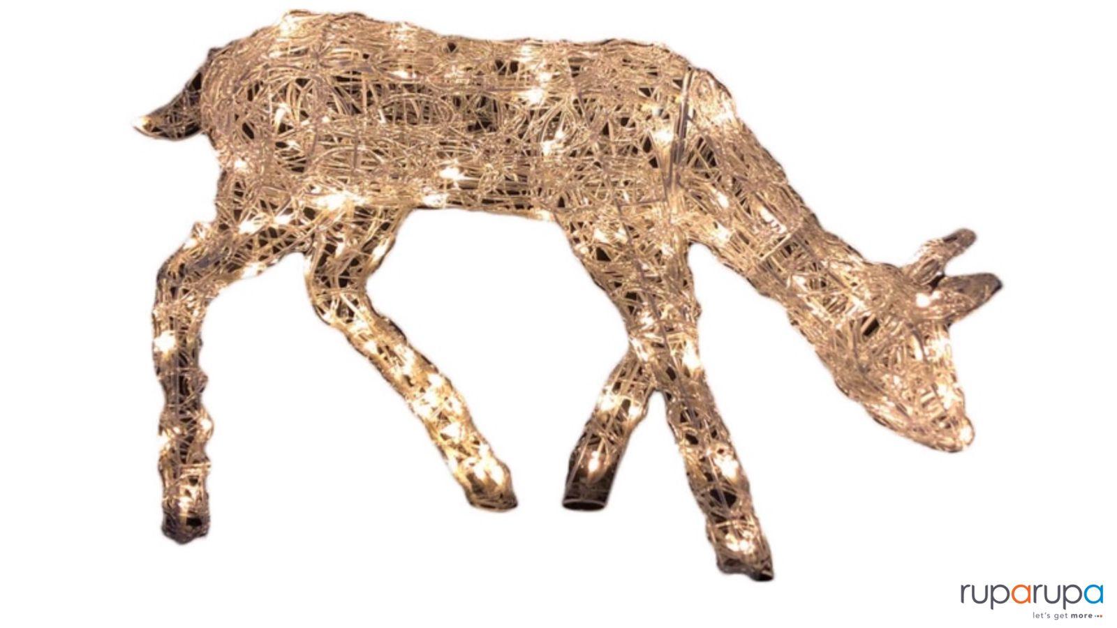 Noelle 50 Cm Lampu Dekorasi Natal Grazing Deer