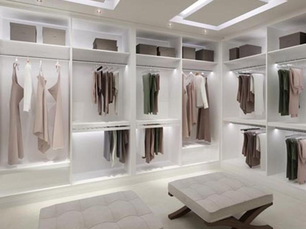 ruang wardrobe minimalis