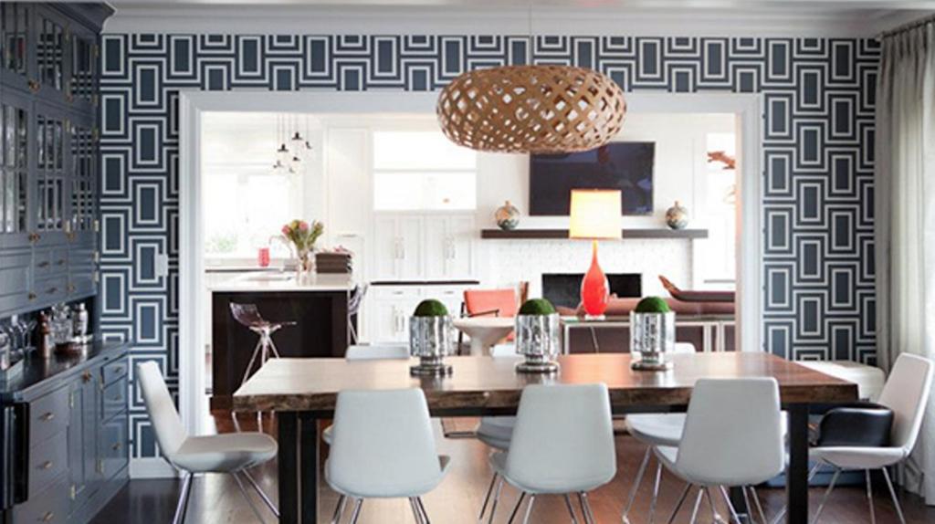 wallpaper ruang makan minimalis