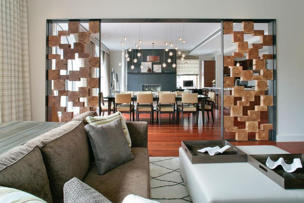 sekat ruang tamu modern