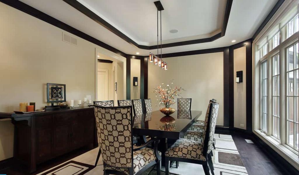 plafon ruang makan terbaru