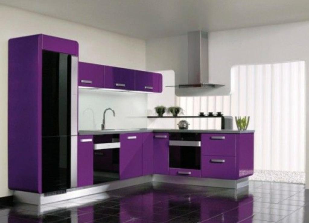 memilih warna warna cat dapur