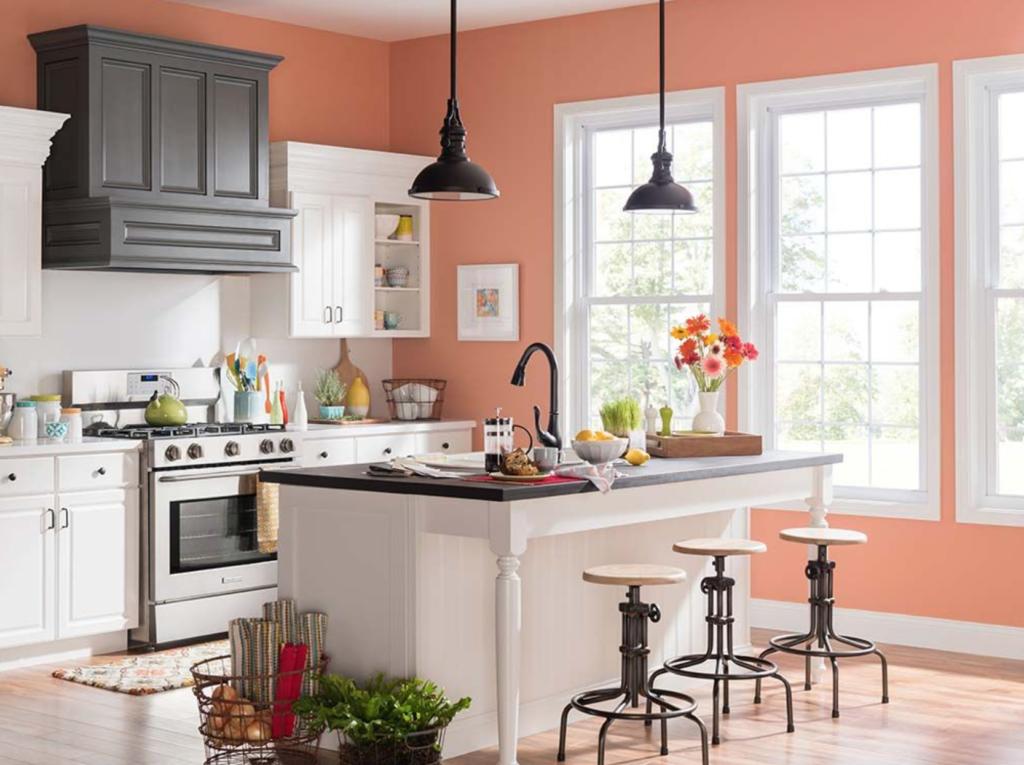 warna cat yang cocok untuk dapur