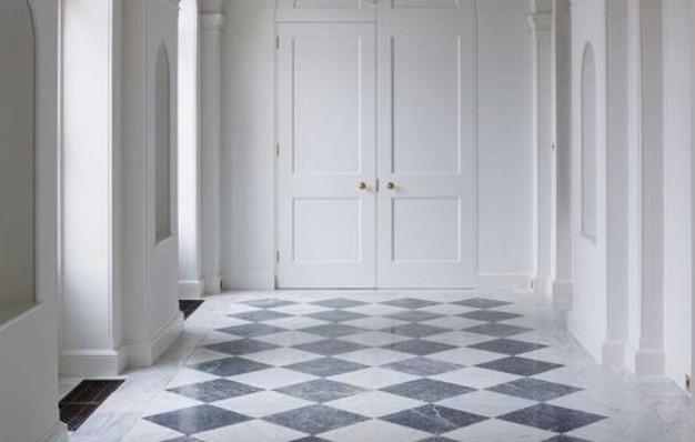 desain keramik ruang tamu