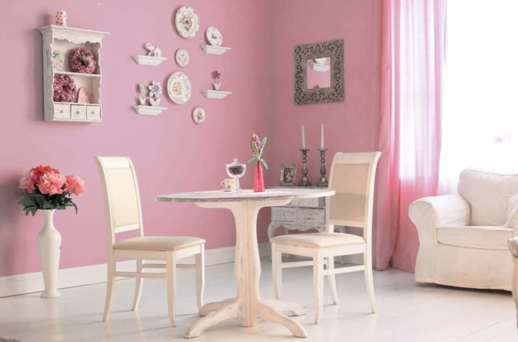 warna cat ruang makan