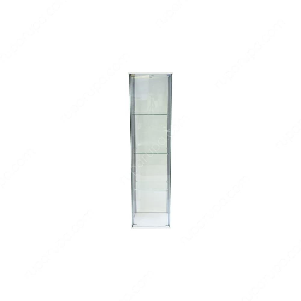 harga lemari ruang tamu minimalis terbaru curio-lemari-pajang-kaca-4-tingkat-putih
