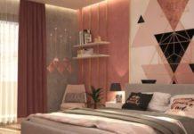 desain kamar pink yang cantik