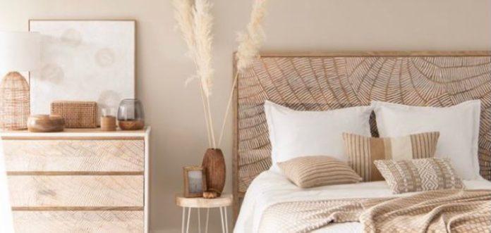 desain kamar tidur warna cream