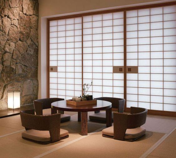 ruang makan zen
