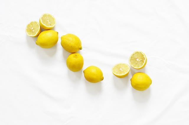 lemon sumber vitamin c